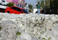 There Was a Massive Ice Storm… In Mexico… In the Middle of the Summer