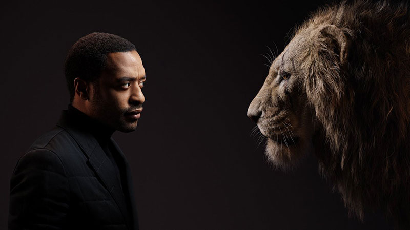 lion king cast and characters 1 New Promo Pics Show the Lion King Cast Meeting Their Animated Counterpart