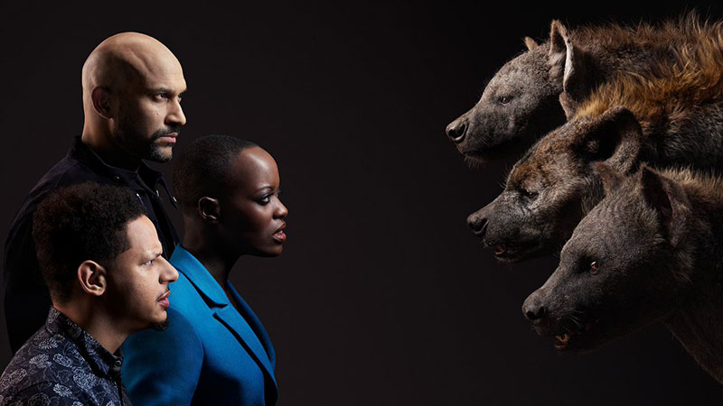 lion king cast and characters 7 New Promo Pics Show the Lion King Cast Meeting Their Animated Counterpart