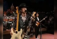 The Smoothest Guitar Switch Ever, Featuring Mr. Stevie Ray Vaughan