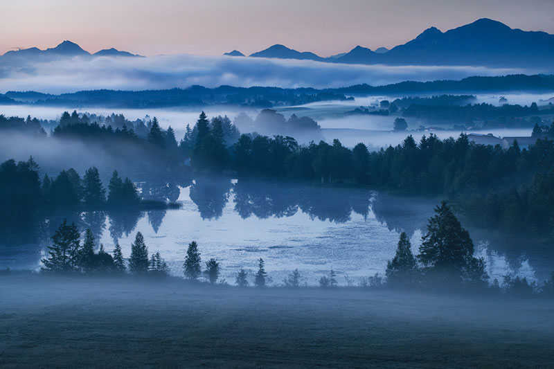 the blue border by kilian schonberger 1 The Blue Hour by Kilian Schoenberger (12 Photos)