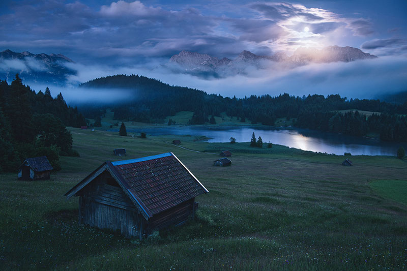 the blue border by kilian schonberger 9 The Blue Hour by Kilian Schoenberger (12 Photos)