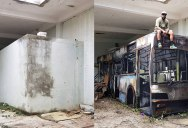 Street Artist Transforms Old Block Wall Into Something Far More Creative