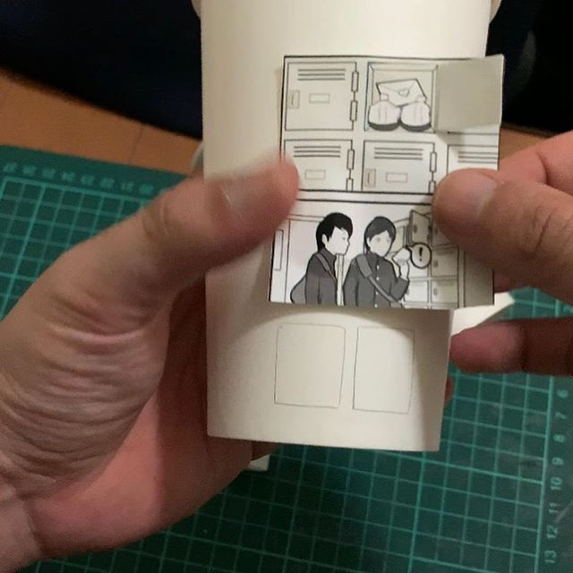 artist finds creative way to use paper cups to tell a love story 9 Artist Finds Creative Way to Use Paper Cups To Tell a Love Story