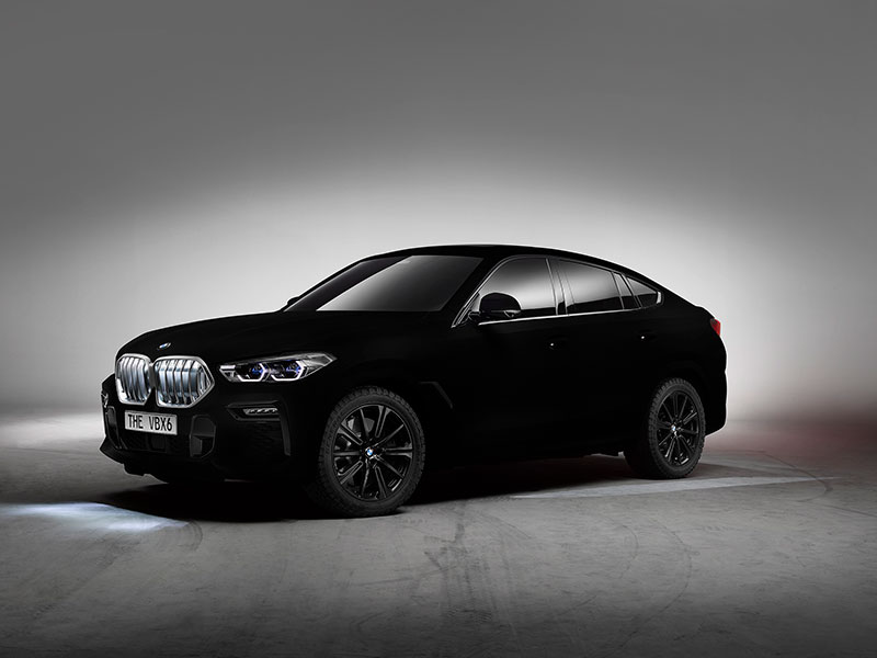 bmw x6 vantablack 3 BMW Unveils One of a Kind X6 in Vantablack