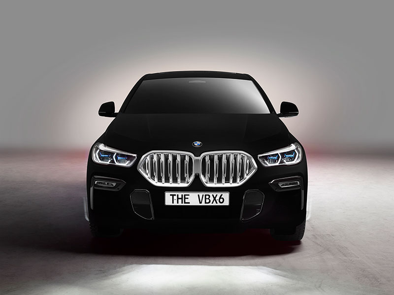 bmw x6 vantablack 6 BMW Unveils One of a Kind X6 in Vantablack