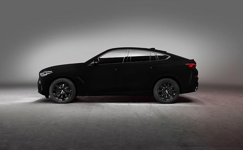 bmw x6 vantablack 8 BMW Unveils One of a Kind X6 in Vantablack