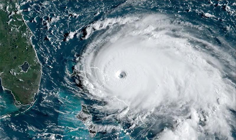 hurricane dorian from space 11 Hurricane Dorian Looks Menacing from Space (10 Photos)