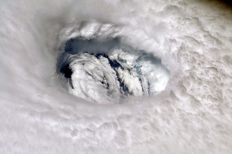 hurricane dorian from space 3 Hurricane Dorian Looks Menacing from Space (10 Photos)