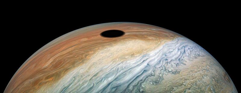 solar eclipse on jupiter 2 A Solar Eclipse on Jupiter