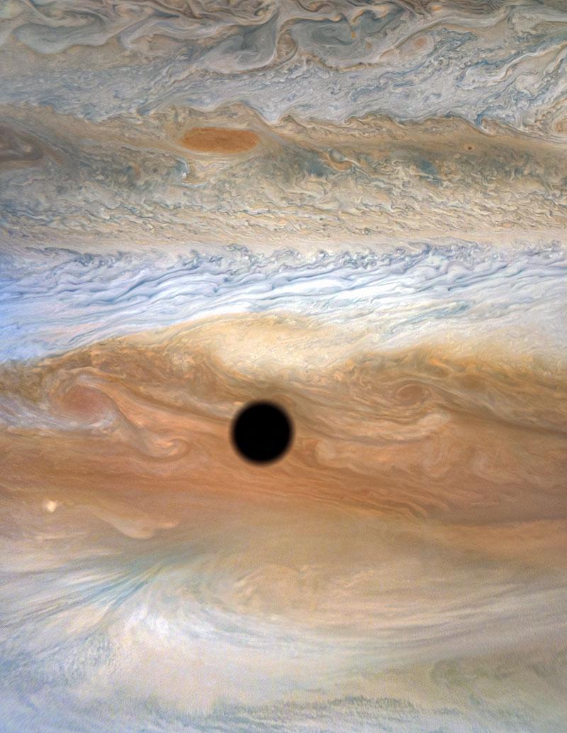 solar eclipse on jupiter 4 A Solar Eclipse on Jupiter