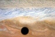 A Solar Eclipse on Jupiter