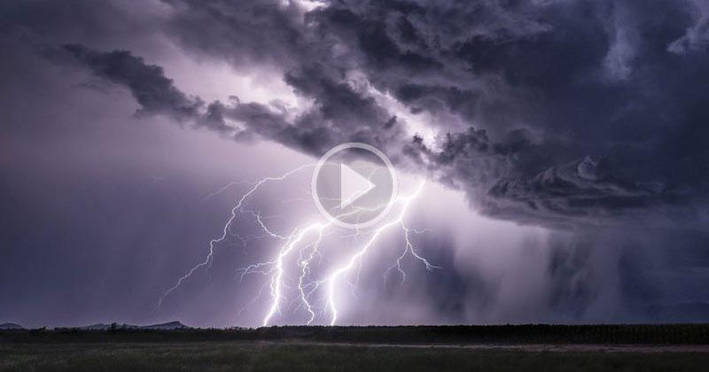 Storm Chaser Uses 4K Phantom to Capture Lightning Like You've Never Seen