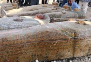 30 Ancient Coffins from 3,000 Years Ago Discovered in Luxor, Egypt