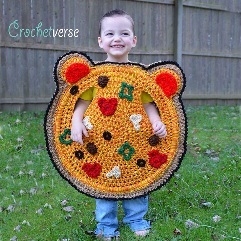 crochet halloween costume by stephanie pokorny crochetverse 12 Every Halloween This Mom Crochets the Coolest Costumes for Her Kids