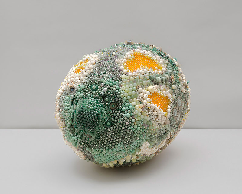 moldy fruit sculptures formed from gemstones by kathleen ryan 1 Decoration and Decay: Moldy Fruit Sculptures Formed From Gemstones