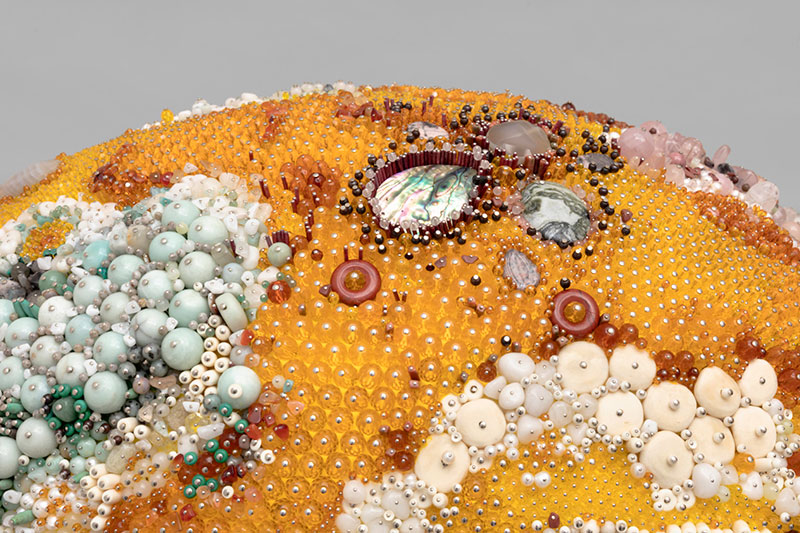 moldy fruit sculptures formed from gemstones by kathleen ryan 13 Decoration and Decay: Moldy Fruit Sculptures Formed From Gemstones