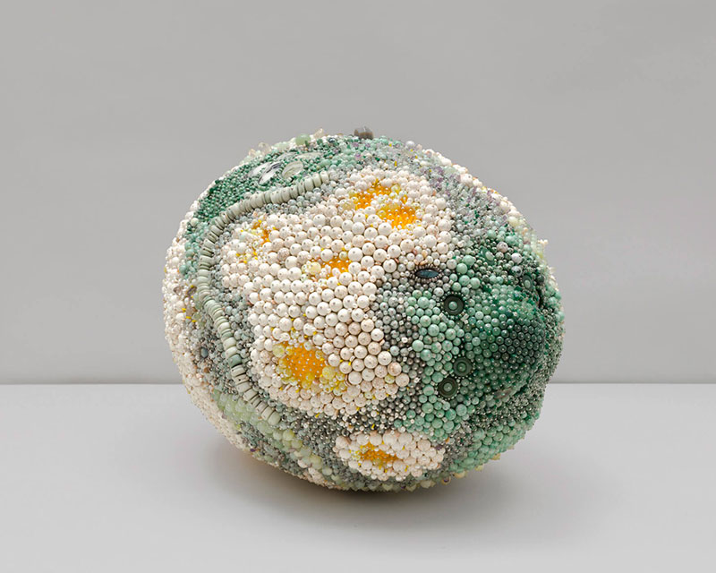 moldy fruit sculptures formed from gemstones by kathleen ryan 15 Decoration and Decay: Moldy Fruit Sculptures Formed From Gemstones