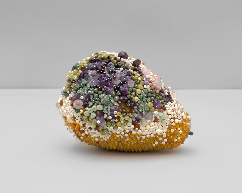 moldy fruit sculptures formed from gemstones by kathleen ryan 3 Decoration and Decay: Moldy Fruit Sculptures Formed From Gemstones