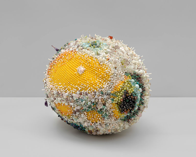 moldy fruit sculptures formed from gemstones by kathleen ryan 4 Decoration and Decay: Moldy Fruit Sculptures Formed From Gemstones