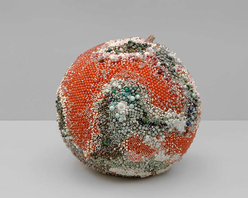 moldy fruit sculptures formed from gemstones by kathleen ryan 7 Decoration and Decay: Moldy Fruit Sculptures Formed From Gemstones