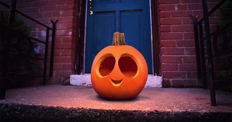 Making a Stop Motion Animation With 15 Carved Pumpkins