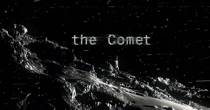 A Neo-Noir Short Made from Actual Photos of Rosetta's Historic Comet Landing