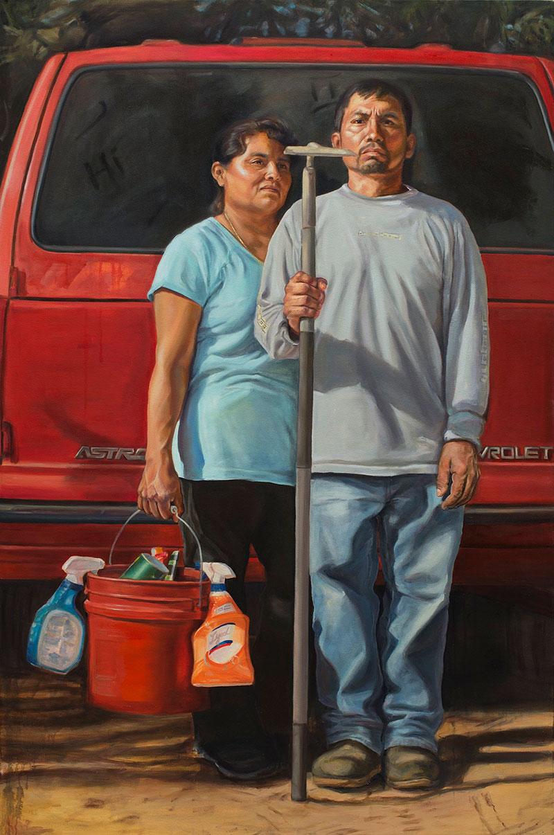the new american gothic by criselda vasquez 2 The New American Gothic by Criselda Vasquez (Oil on Canvas 72 x 48)