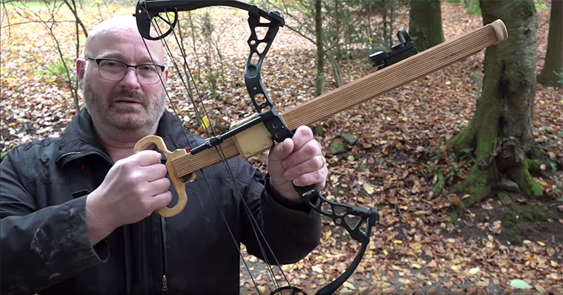 This Guy Built a Semi-Automatic Bow Called the Instant Legolas and It's Awesome