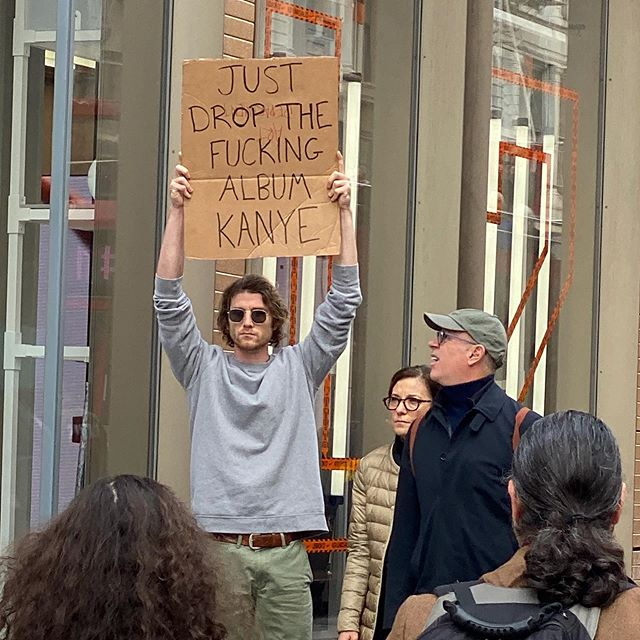dude with sign protests random things instagram 11 Dude with Sign Protests the Most Random Things (13 Photos)
