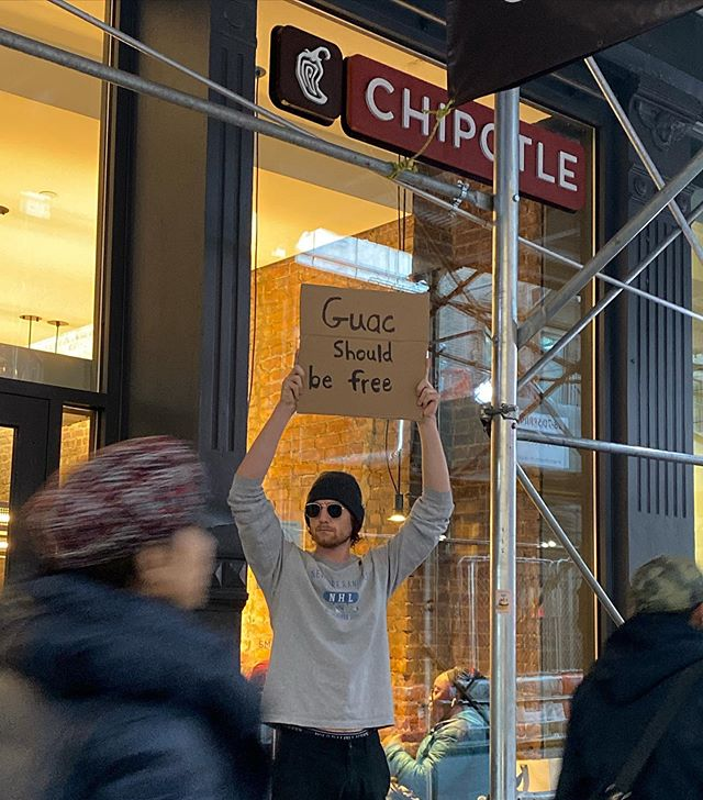 dude with sign protests random things instagram 13 Dude with Sign Protests the Most Random Things (13 Photos)