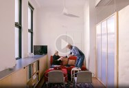 From 250 Acres to 400 sq ft: Elderly Couple Downsizes to Amazing Little Condo in Sydney