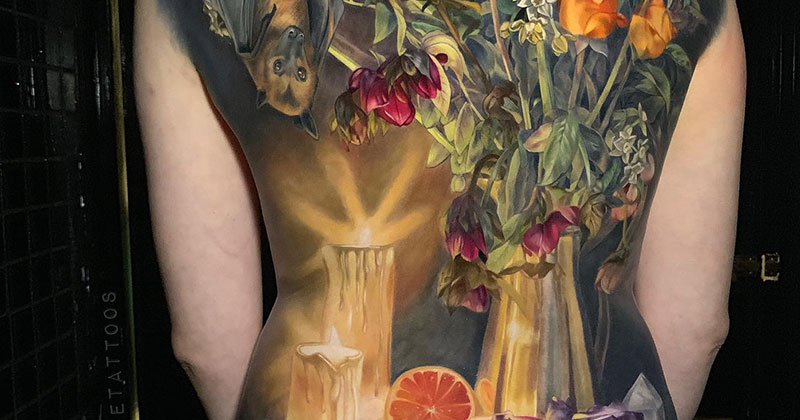 This Full Back Piece by Makkala Rose is a Masterpiece