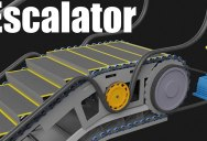 This 3D Animation Elegantly Explains How An Escalator Works