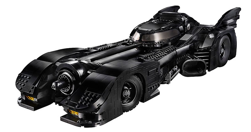 LEGO Unveils 30th Anniversary Edition of Tim Burton's 1989 Batmobile