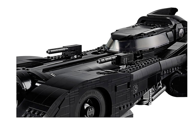 lego unveils 30th anniversary edition of tim burton 1989 batmobile 12 LEGO Unveils 30th Anniversary Edition of Tim Burtons 1989 Batmobile