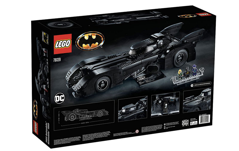 lego unveils 30th anniversary edition of tim burton 1989 batmobile 13 LEGO Unveils 30th Anniversary Edition of Tim Burtons 1989 Batmobile