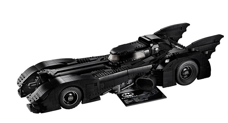 lego unveils 30th anniversary edition of tim burton 1989 batmobile 4 LEGO Unveils 30th Anniversary Edition of Tim Burtons 1989 Batmobile