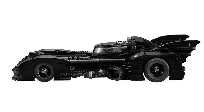 lego unveils 30th anniversary edition of tim burton 1989 batmobile 7 LEGO Unveils 30th Anniversary Edition of Tim Burtons 1989 Batmobile