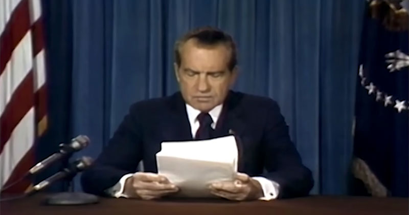 Someone Deepfaked Nixon's Contingency Moon Disaster Speech and It's Chilling