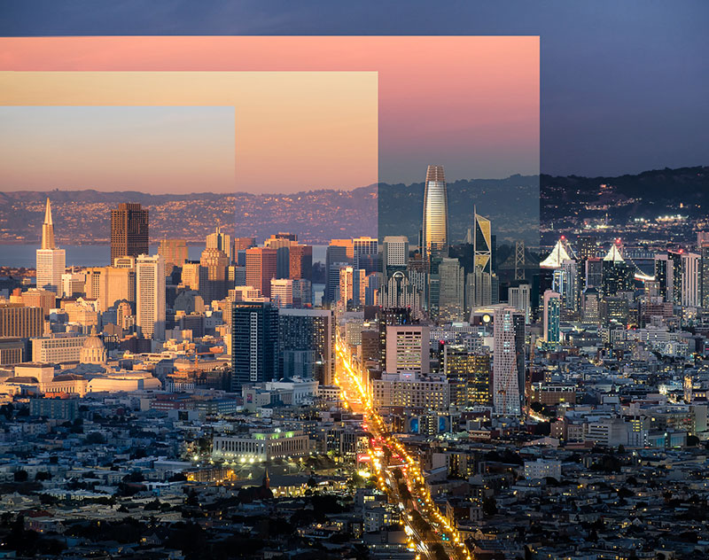 sunset photo of san francisco that shows the passage of time andrea fanelli 2 A Sunset Photo of San Francisco That Shows the Passage of Time