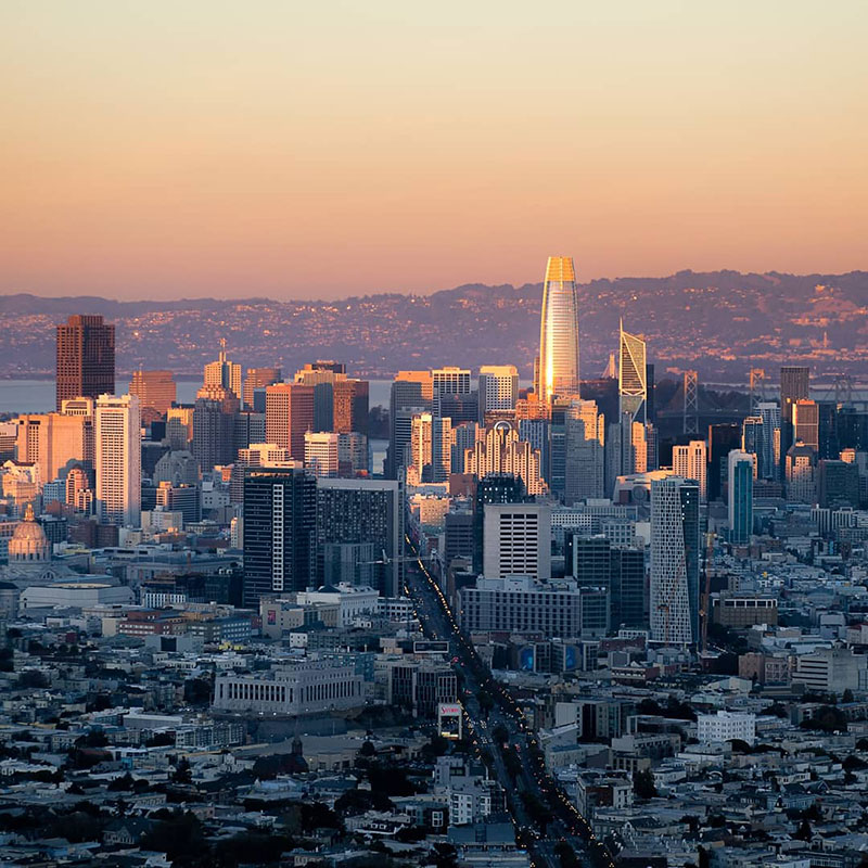 sunset photo of san francisco that shows the passage of time andrea fanelli 3 A Sunset Photo of San Francisco That Shows the Passage of Time