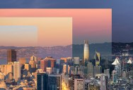 A Sunset Photo of San Francisco That Shows the Passage of Time
