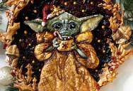 Baby Yoda Raspberry Pie