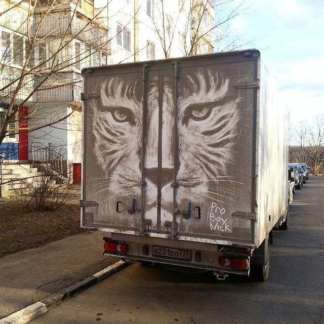 dirty russian street art by pro boy nick nikita golubev 4 The Dirtiest Russian Street Art You Will Ever See (13 Photos)