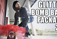 Remember the Glitter Bomb Trap to Bust Porch Pirates? It's Back with Upgrades