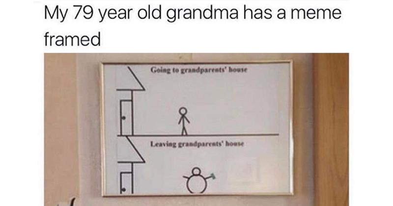grandma meme framed The Shirk Report – Volume 557
