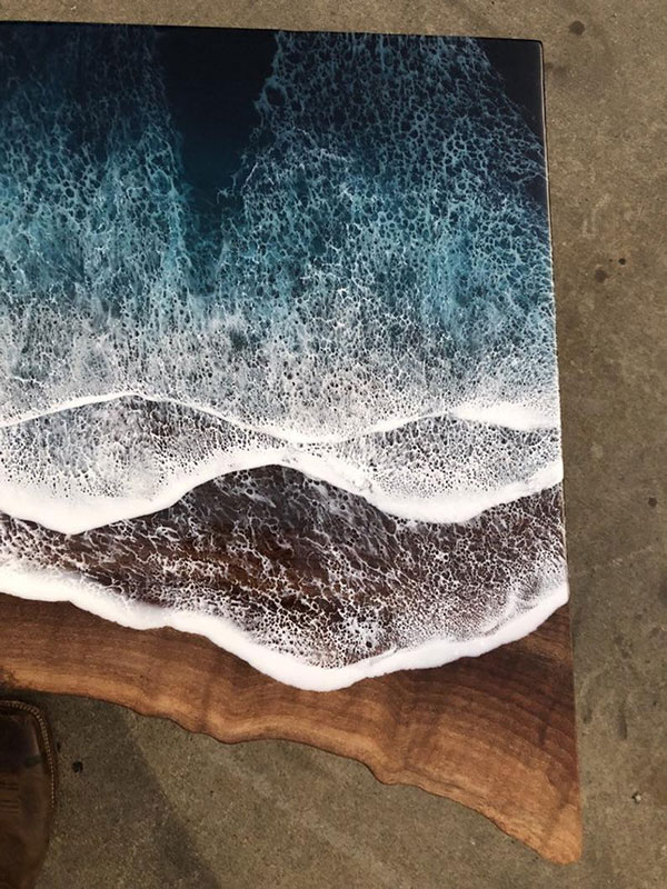 live edge ocean surface tables by rivka wilkins and jared davis 16 These Live Edge Ocean Shore Coffee Tables are Incredible (18 Pics)