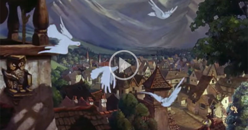 The Animation in Disney's Hand-Drawn 1940 Film 'Pinocchio' is Amazing