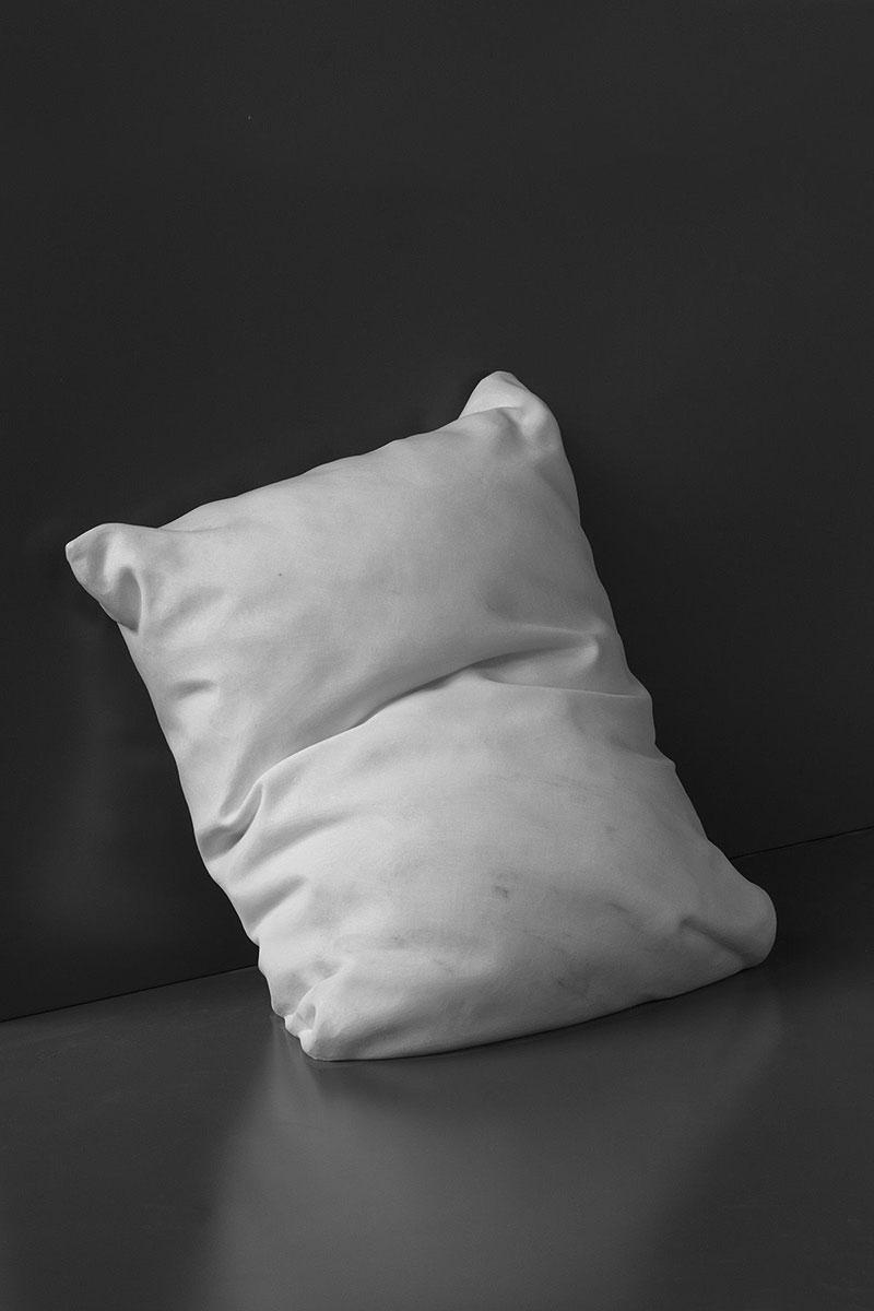 marble pillow sculptures by hakon anton fageras 5 Marble Pillows Chiseled by Hakon Anton Fageras